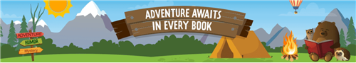 Adventure Awaits In Every Book