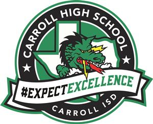 Carroll High School Dragon Logo